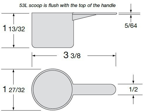 53 L Scoop Illustration