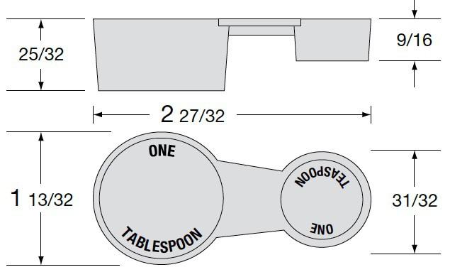 5cc + 14.7cc Double Scoop Illustration